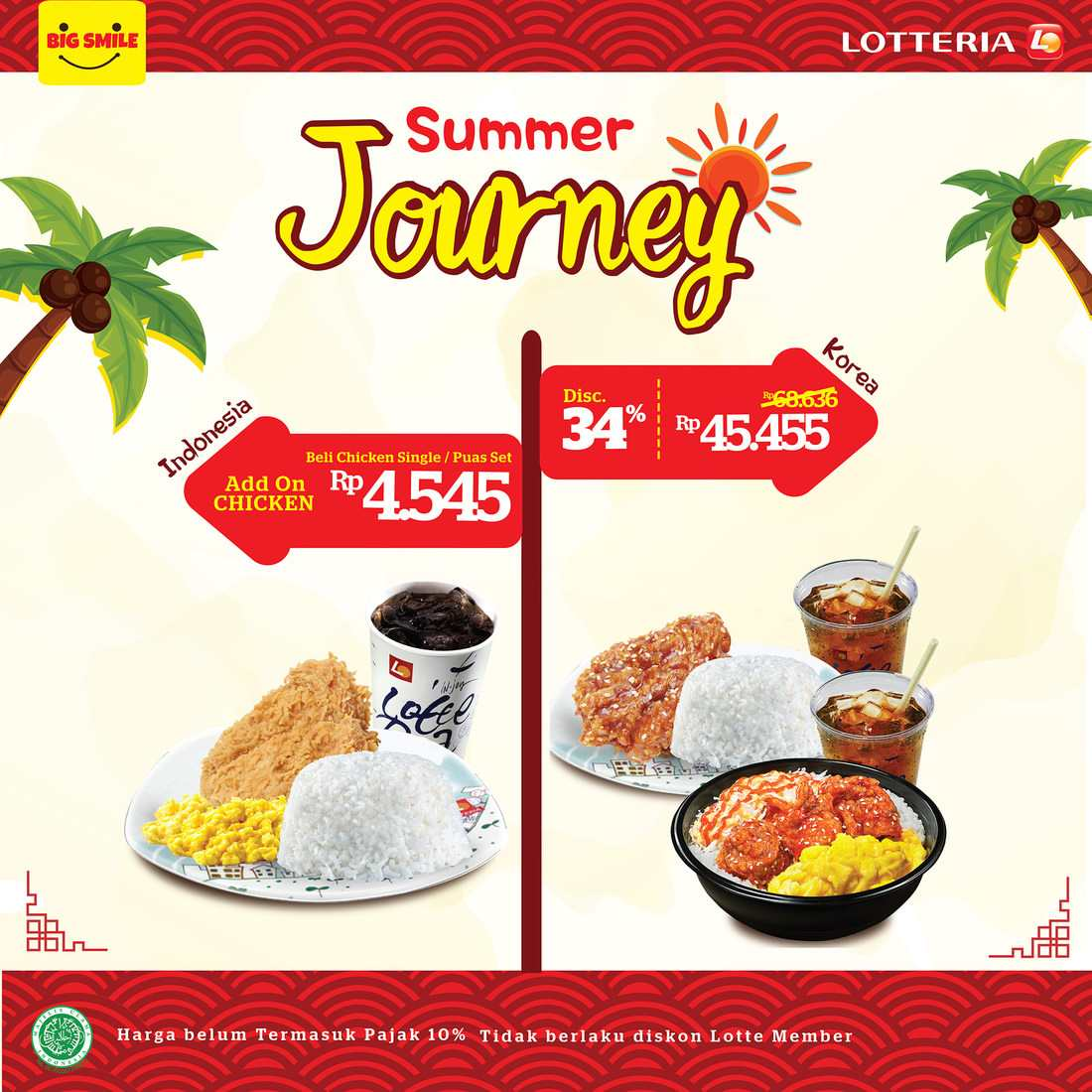 LOTTERIA Promo Summer Journey