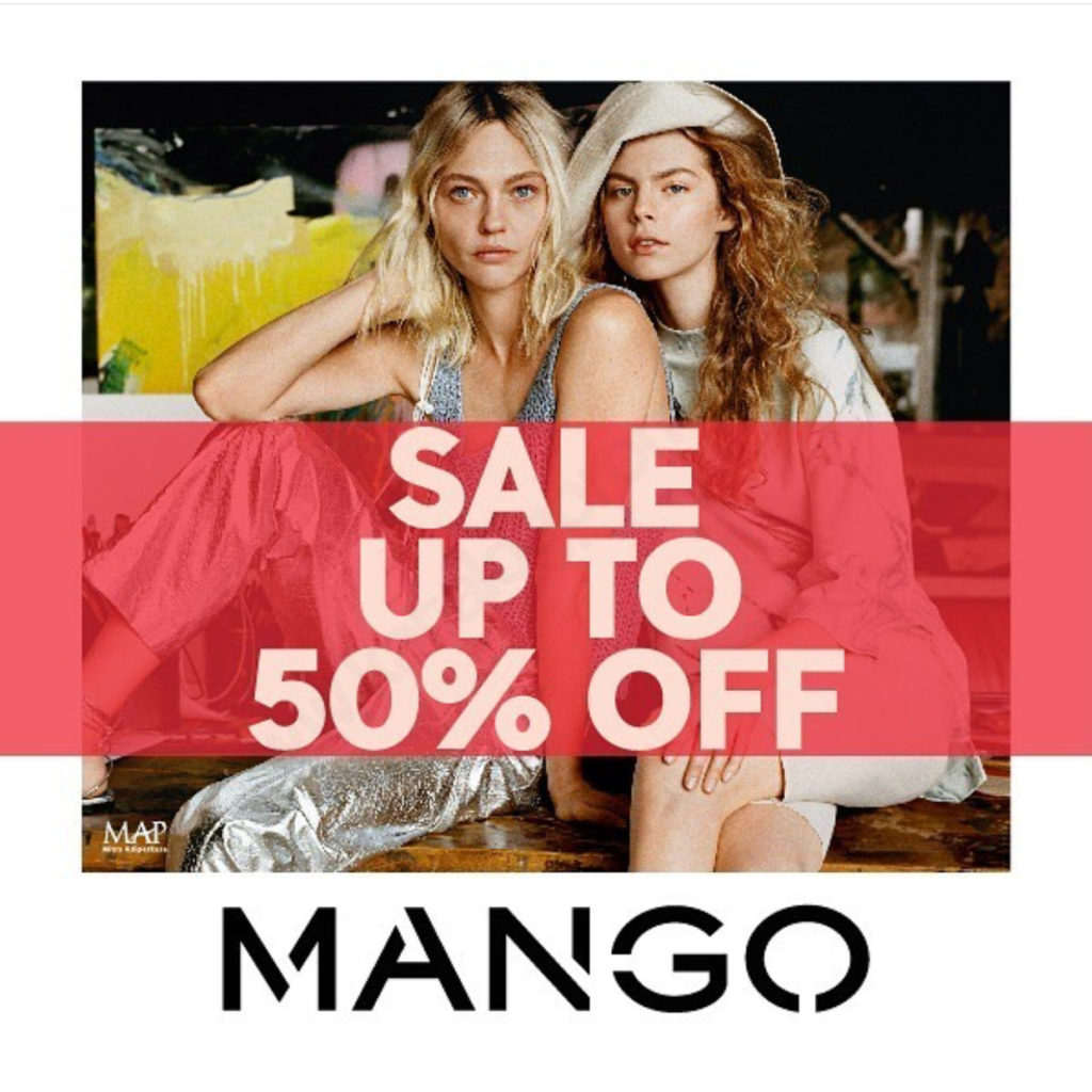 Diskon MANGO SALE up to 50% off