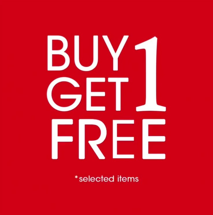 Diskon MINIMAL Promo Buy 1 Get 1 Free Selected Items