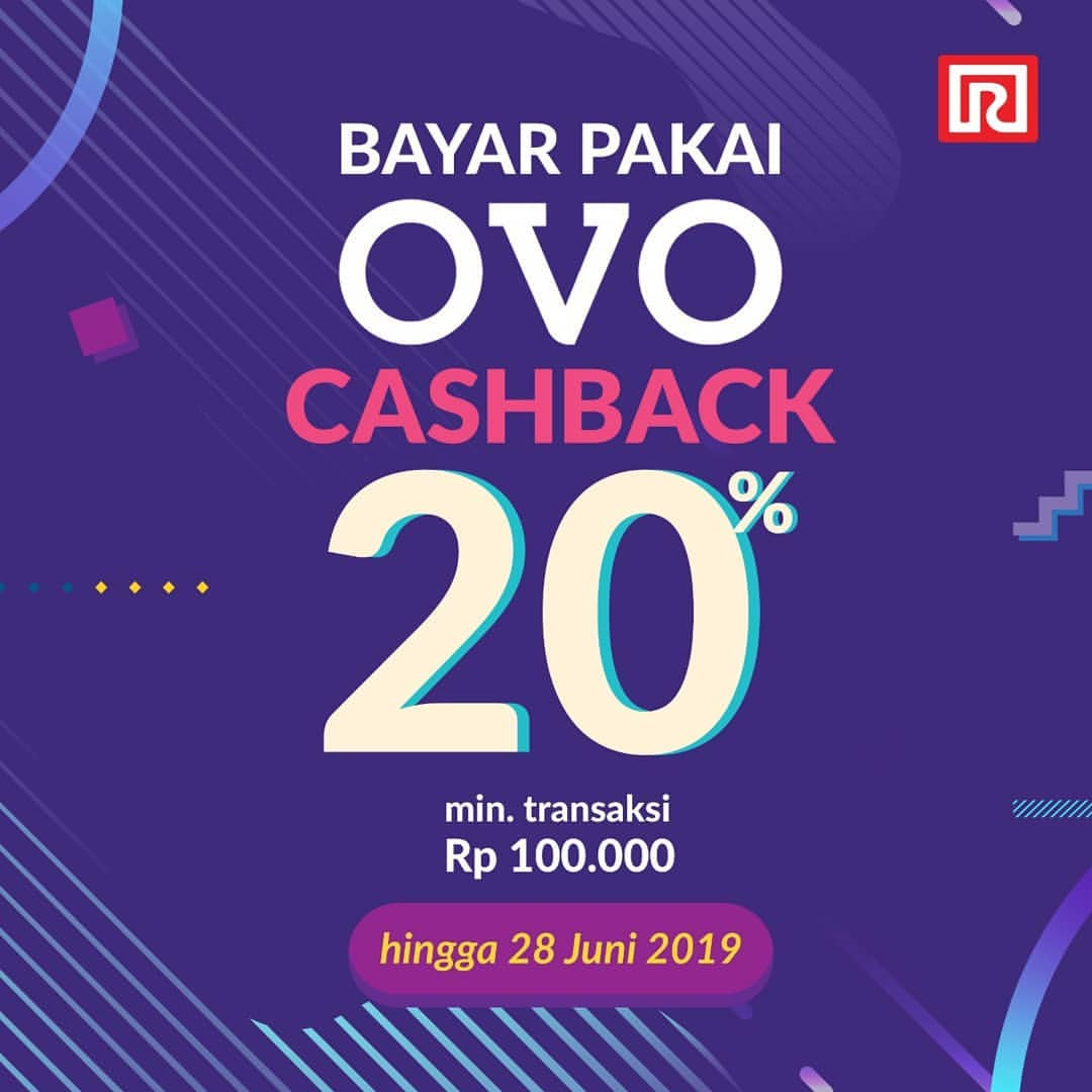 Diskon RAMAYANA Promo Cashback 20% dengan OVO