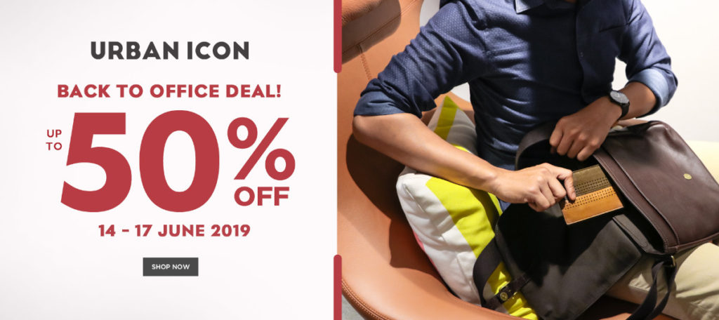 Diskon URBAN ICON Promo Back to Office Deal DISKON hingga 50%