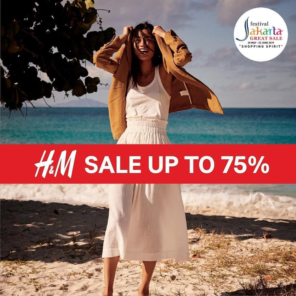 Diskon H&M Super Sale sampai 75%!