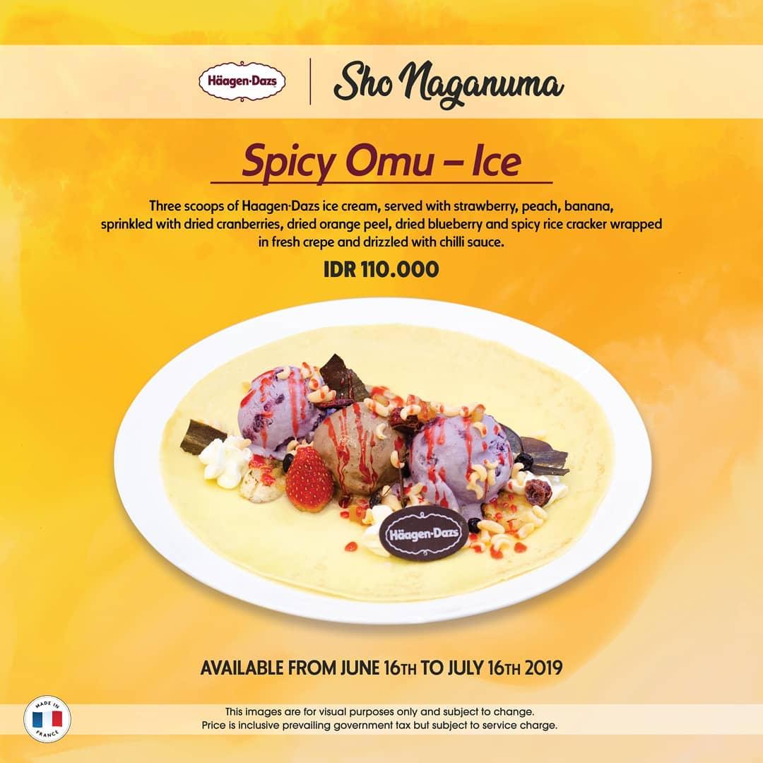 Haagen-dazs Cafe NEW Spicy Omu-Ice by Chef Sho Naganuma