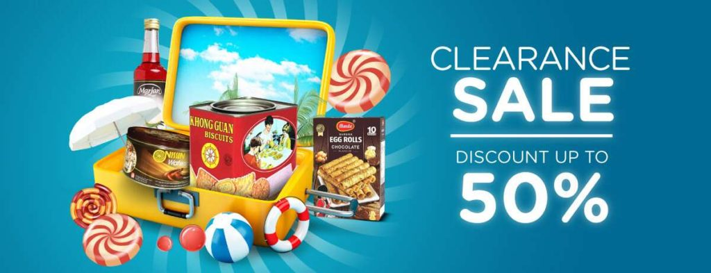 BLIBLI.COM Promo BlibliMart CLEARANCE SALE Disc up to 50% untuk Produk-Produk Festive