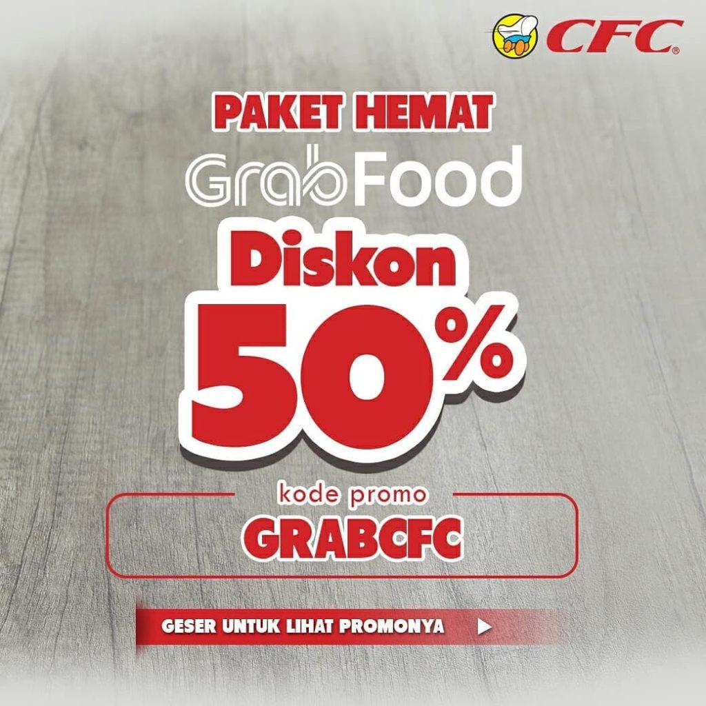 Diskon CFC Promo PAKET HEMAT SPESIAL DISKON 50% via GRABFOOD
