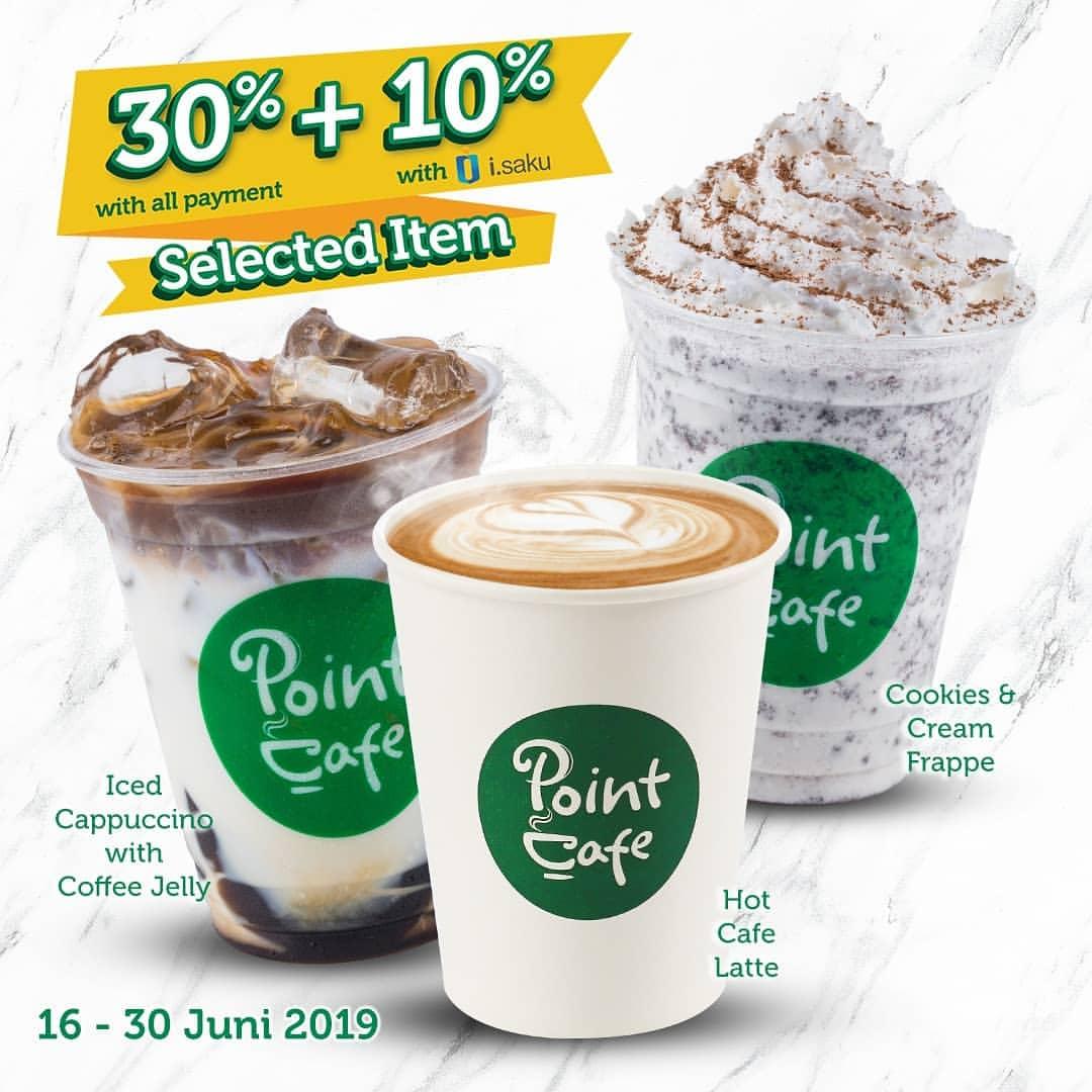 Diskon INDOMARET POINT CAFE Promo DISKON Hingga 40% Untuk Produk Pilihan
