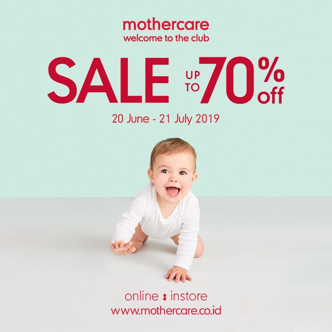 Diskon Mothercare Promo Sale Up To 70% Off