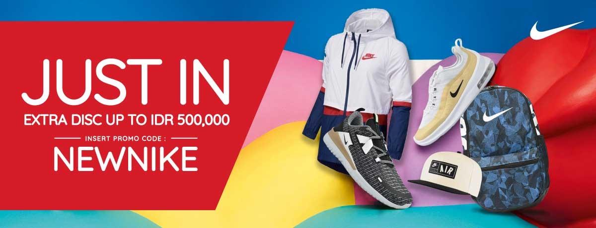 Blibli Promo Nike New Arrival, Ekstra Diskon Hingga Rp.500.000