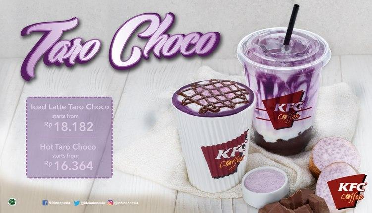 Diskon KFC Promo Terbaru Taro Choco, Harga Mulai Dari Rp.18 Ribuan
