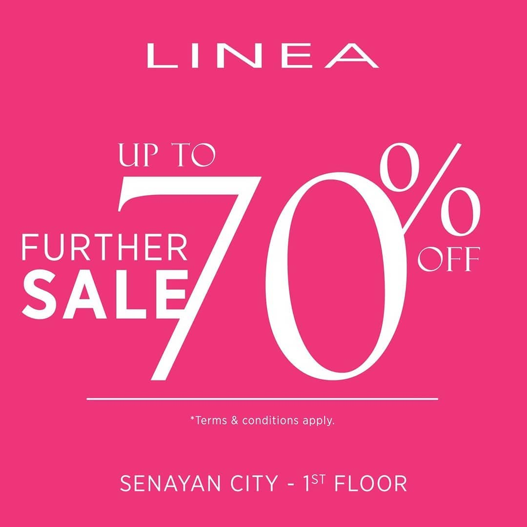 Linea Promo End Of Season Sale, Diskon Hingga 70%