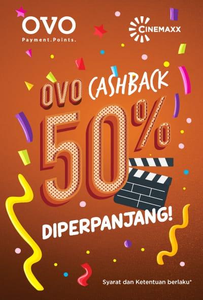 Cinemaxx Theater Promo Spesial Nomat Hemat Dengan Cashback 50%