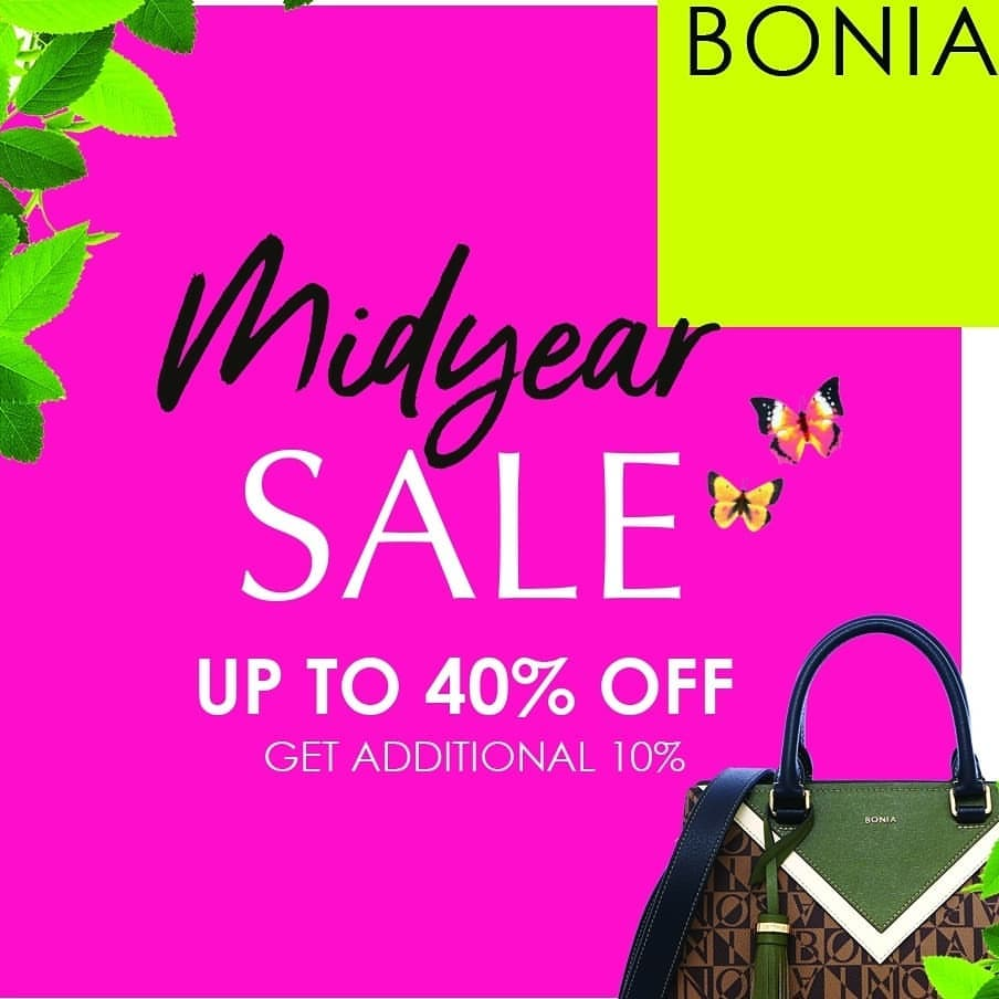 BONIA MID YEAR SALE up to 40% off