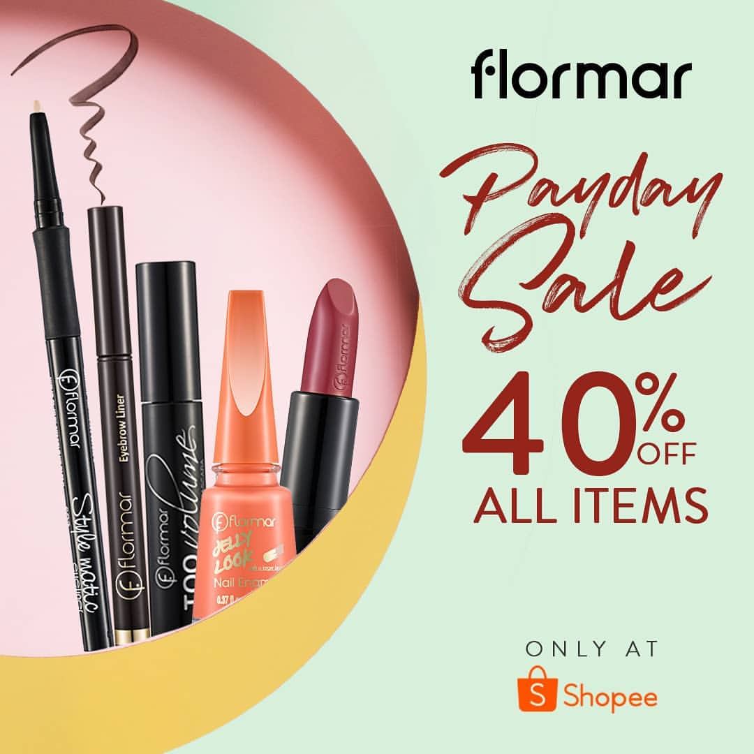 FLORMAR INDONESIA Promo Payday Sale 40% off All Item