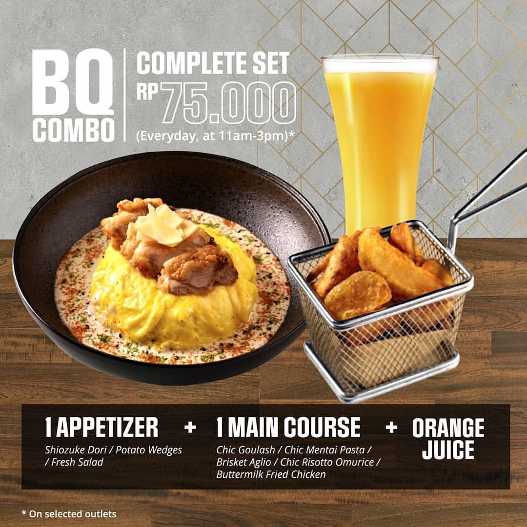 Diskon BEATRICE QUARTERS Promo Complete Set by BQ Hanya IDR 75,000