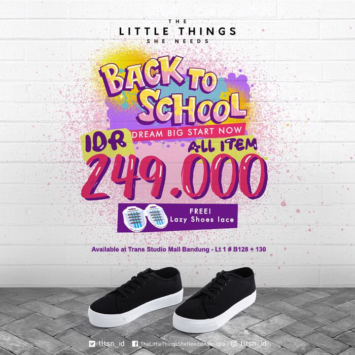 The Little Things She Needs Back To School Promo Only 249K All Item