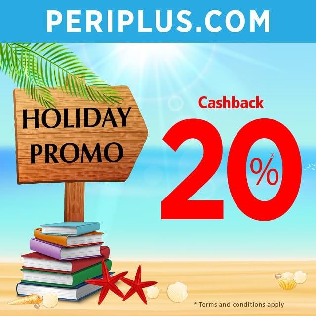 PERIPLUS.COM HOLIDAY Promo Cashback 20%