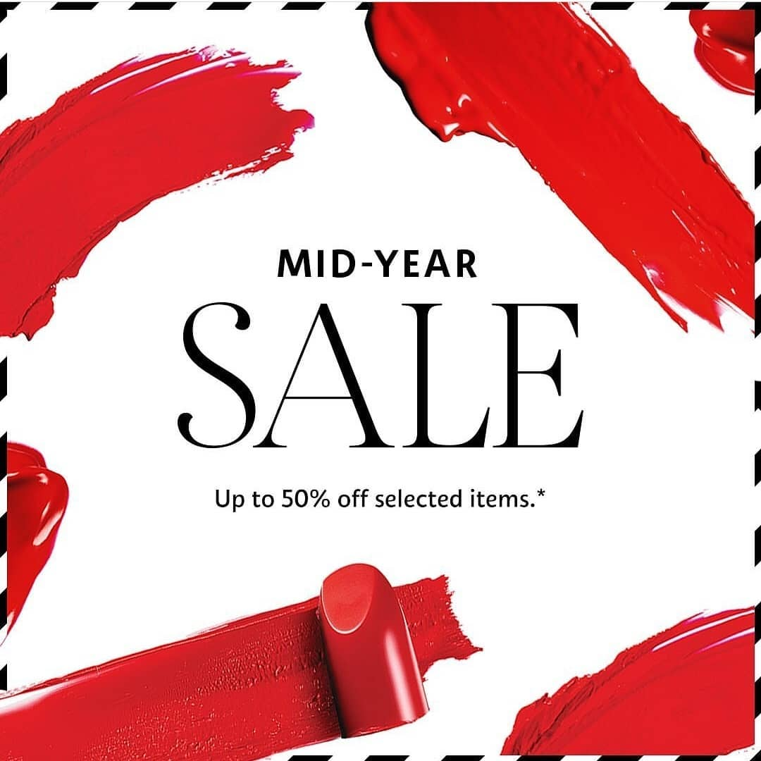SEPHORA MID YEAR SALE up to 50% off on selected items