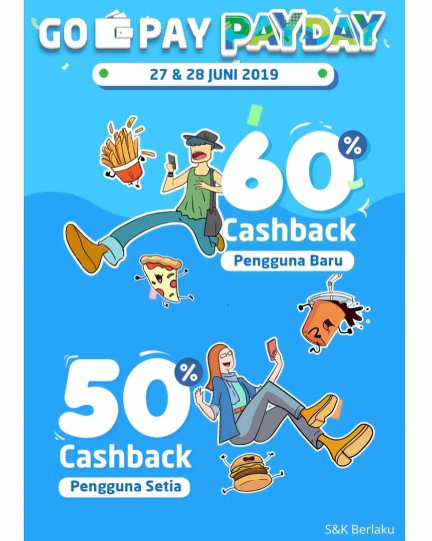 Diskon UNCLE TETSU Promo GOPAY PAYDAY CASHBACK hingga 60% dengan GOPAY