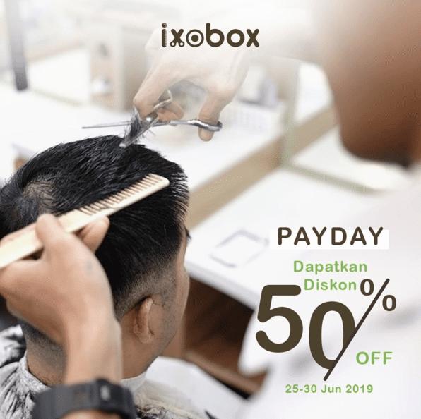 IXOBOX Payday Promo Diskon 50%