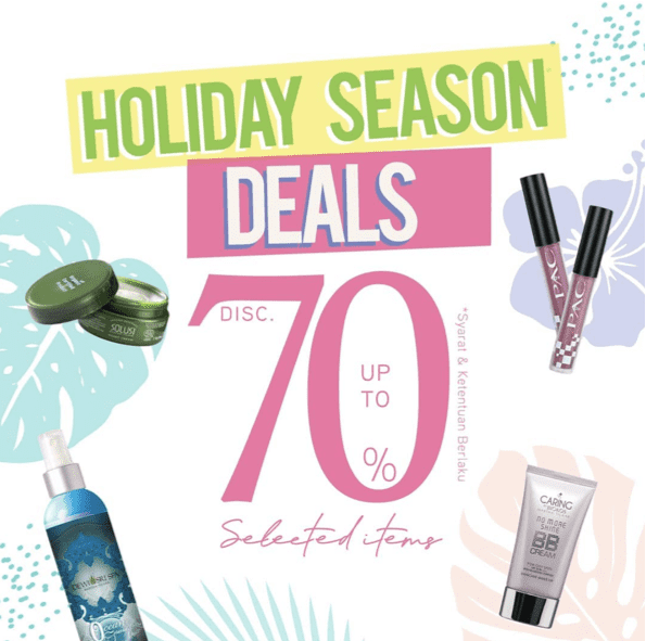 Diskon MARTHA TILAAR Promo Holiday Season Deals Disc 70% Selected Items