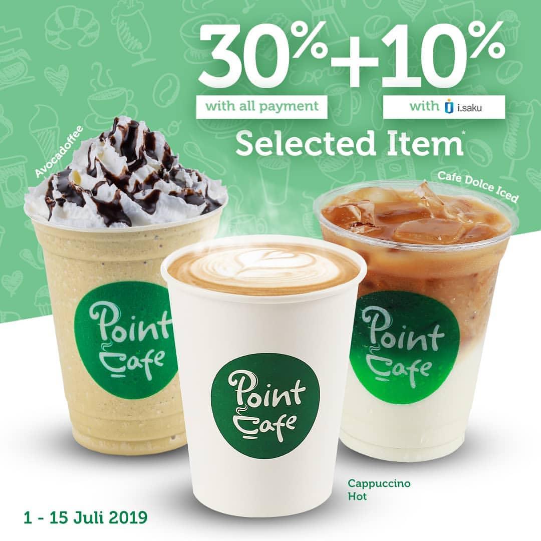 INDOMARET POINT CAFE Promo DISKON HINGGA 40% untuk produk pilihan