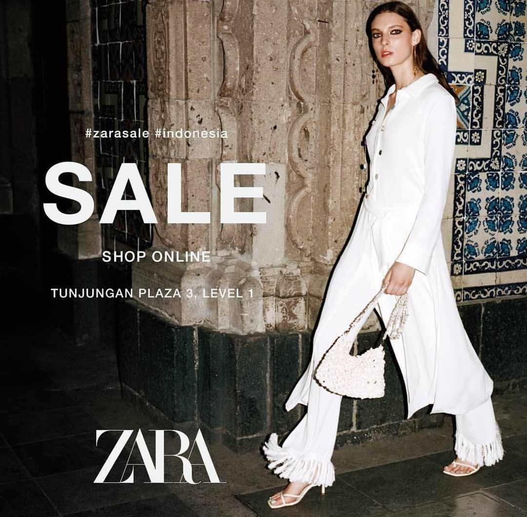 Zara End Of Season Sale Promo, Diskon Hingga 50%
