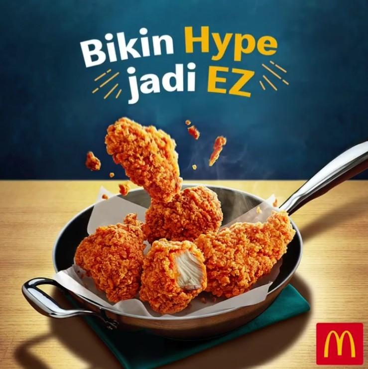 McDonalds Promo Menu Baru Gochujang Chicken, Harga Mulai Dari Rp. 27 Ribuan