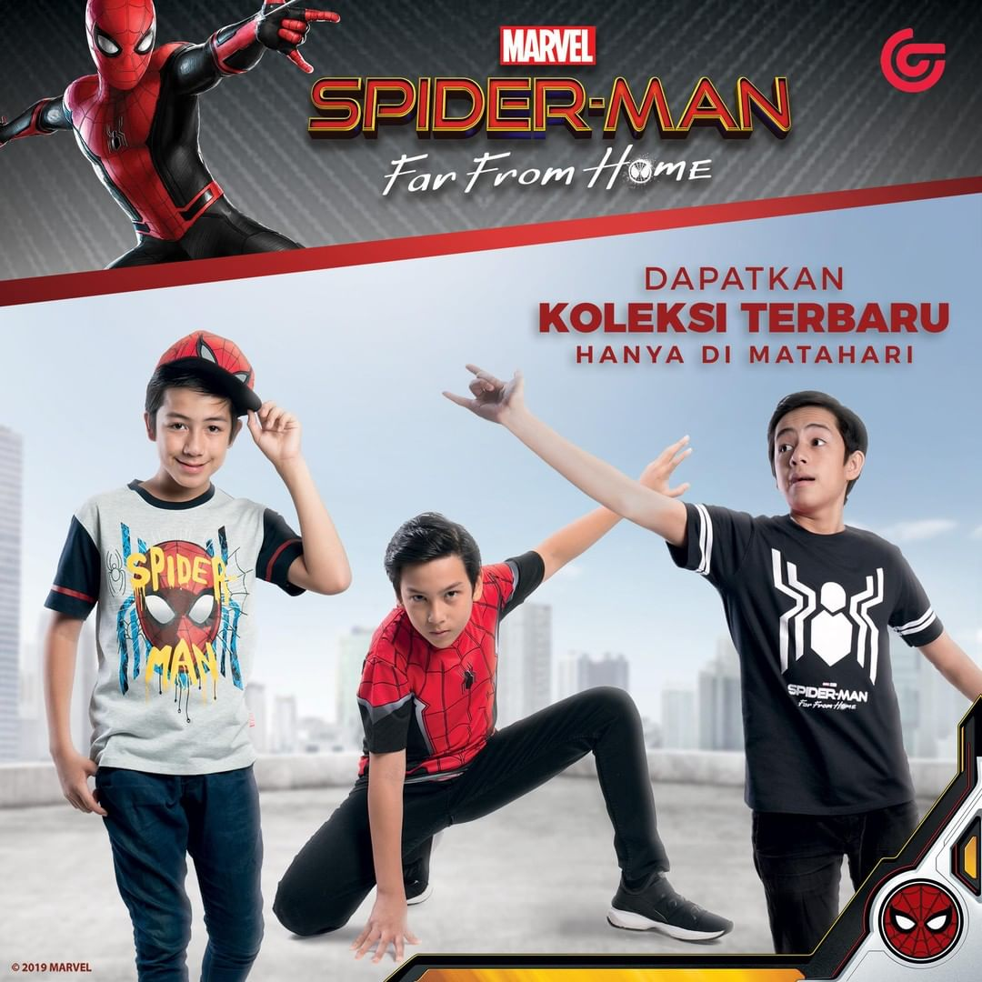 Diskon MATAHARI Department Store Promo KOLEKSI TEBARU SPIDERMAN : FAR FROM HOME