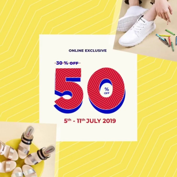 Diskon TRACCE Online Exclusive Sale up to 50% off