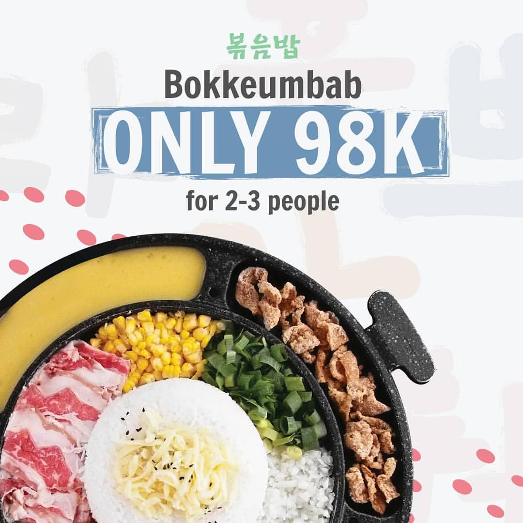 Diskon Patbingsoo Promo Harga Spesial untuk Bokkeumbab Cuma Rp.98.000