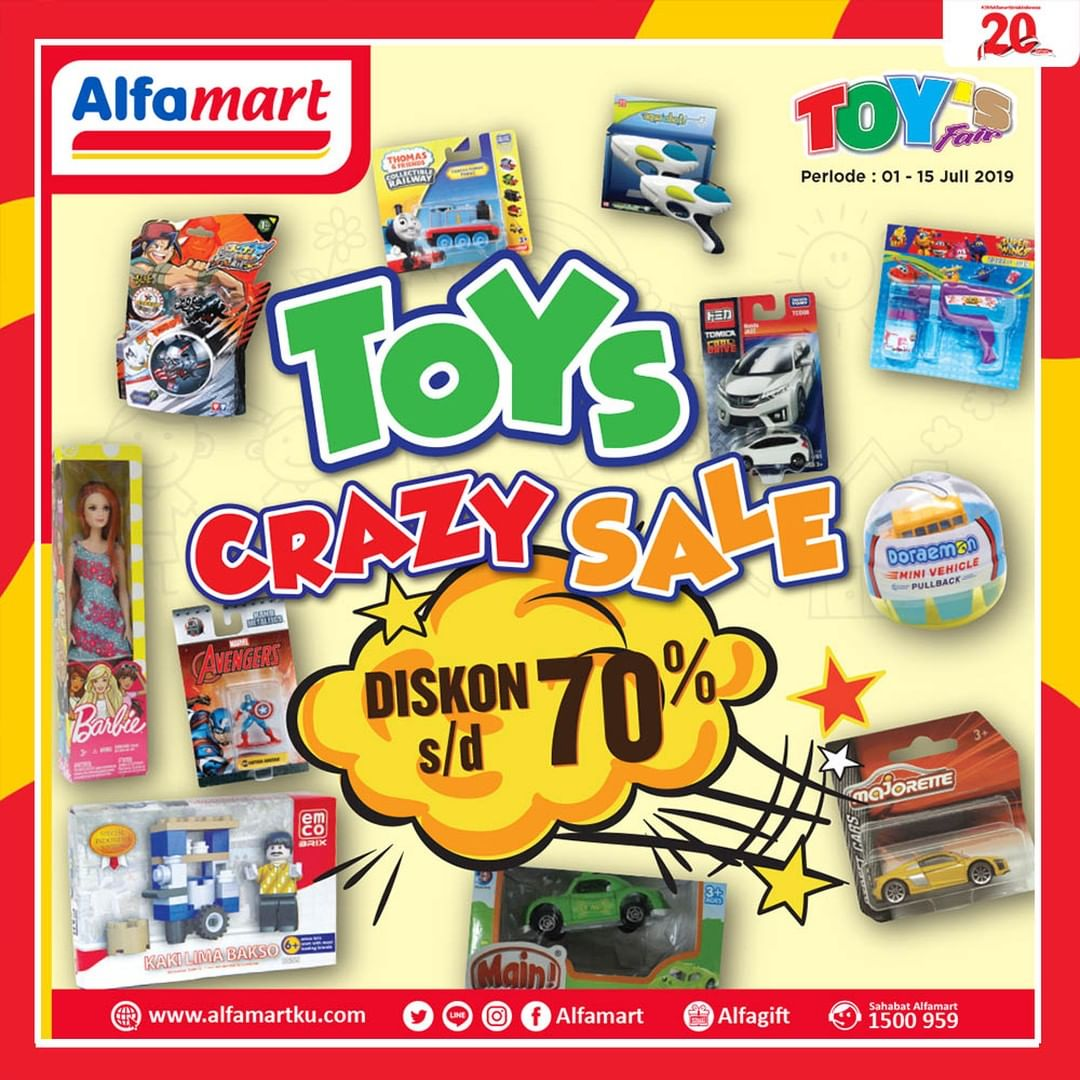 ALFAMART TOYS CRAZY SALE up to 70% off