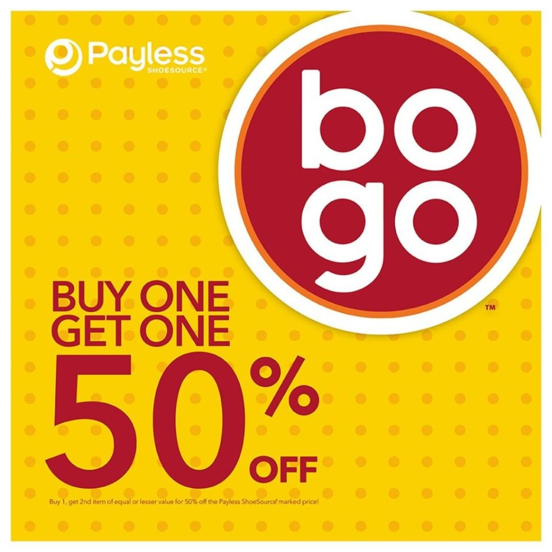 Diskon PAYLESS SHOESOURCE Promo Buy One Get One 50% Off
