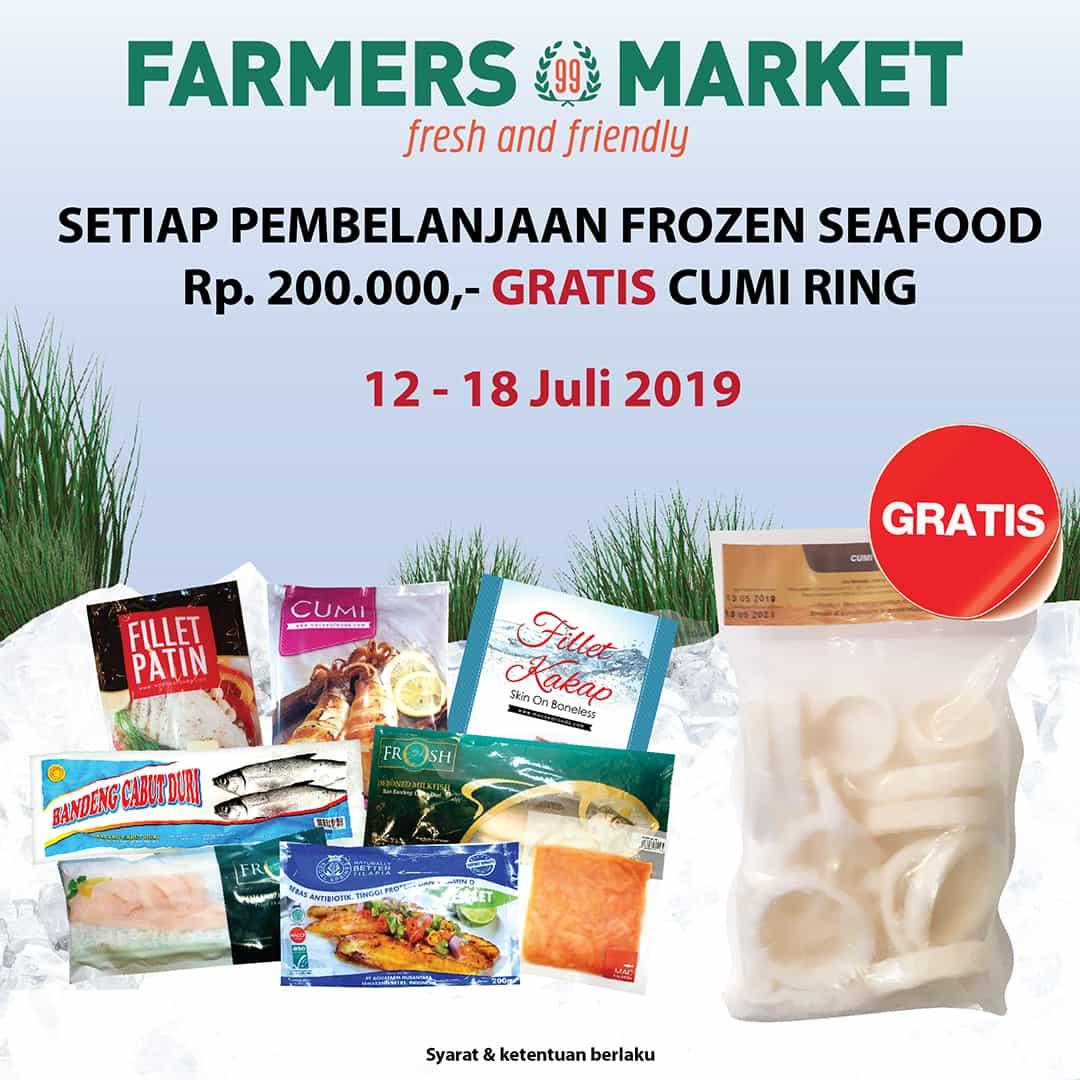 FARMERS MARKET Promo Gratis Cumi Ring Setiap pembelian Produk Frozen Food