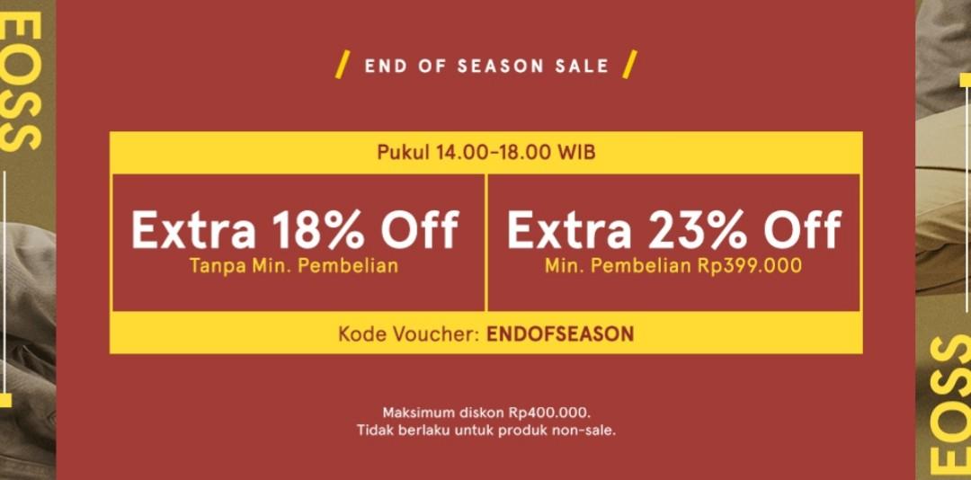 Zalora Promo End Of Season Sale, Diskon Hingga Rp.400.000