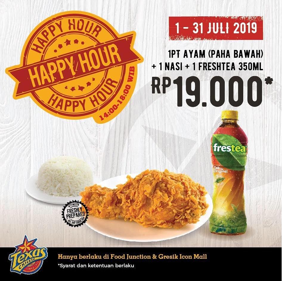 Diskon TEXAS Promo Combo Happy Hour Hanya Rp.19.000
