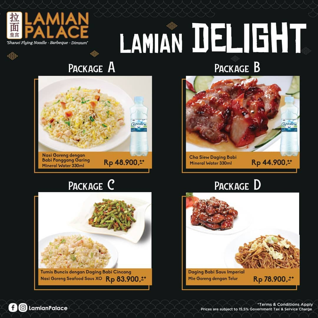 Diskon Lamian Palace Promo Special Package khusus via GO-FOOD