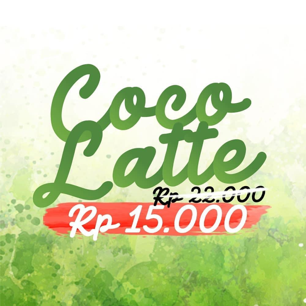 Diskon Kopi Janji Jiwa Harga Special Coco Latte Hanya Rp.15.000