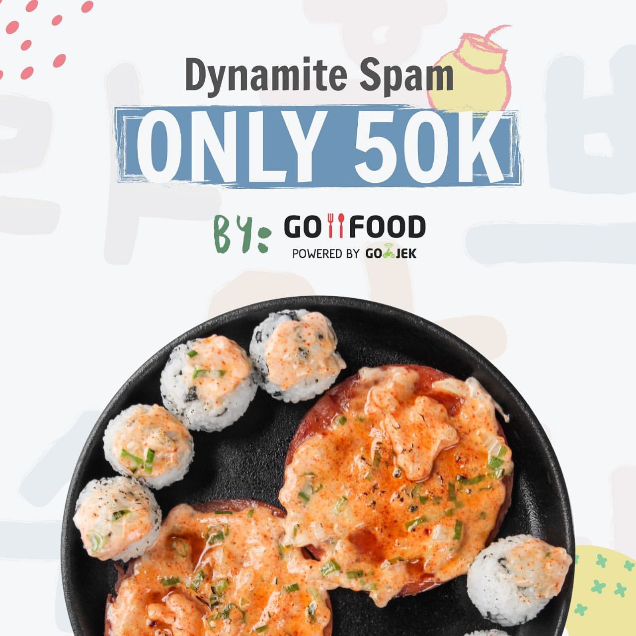 Patbingsoo Special Price Dynamite Spam Only 50K Only By Go-Food