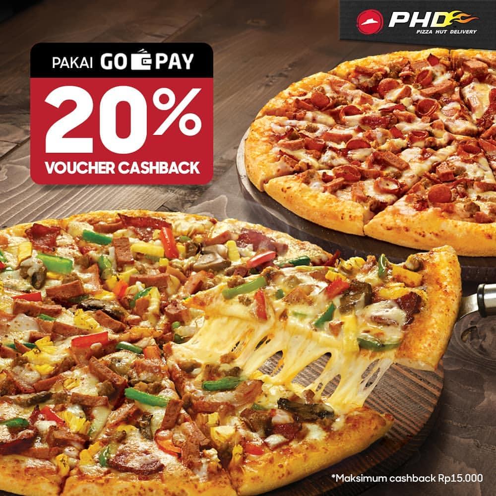 Diskon PHD Cashback 20% dengan GO-PAY