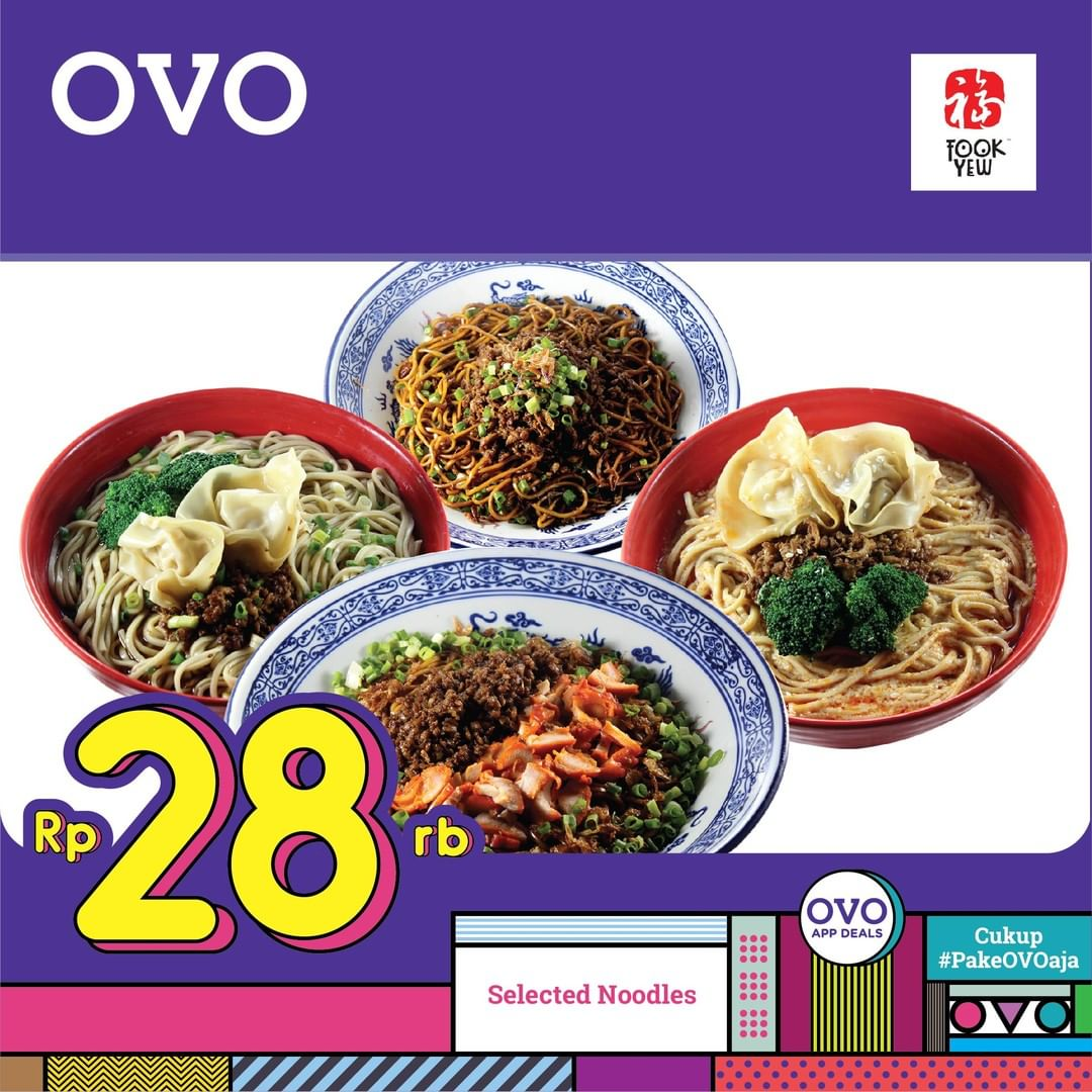 Fook Yew Diskon 50% dengan OVO Deals