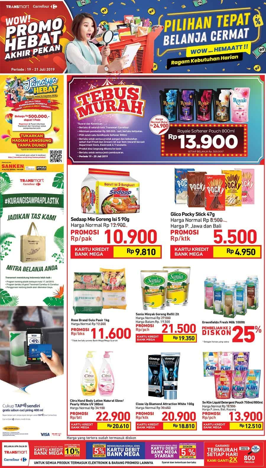 Katalog Promo Carrefour Weekend Promo periode 19-21 Juli 2019