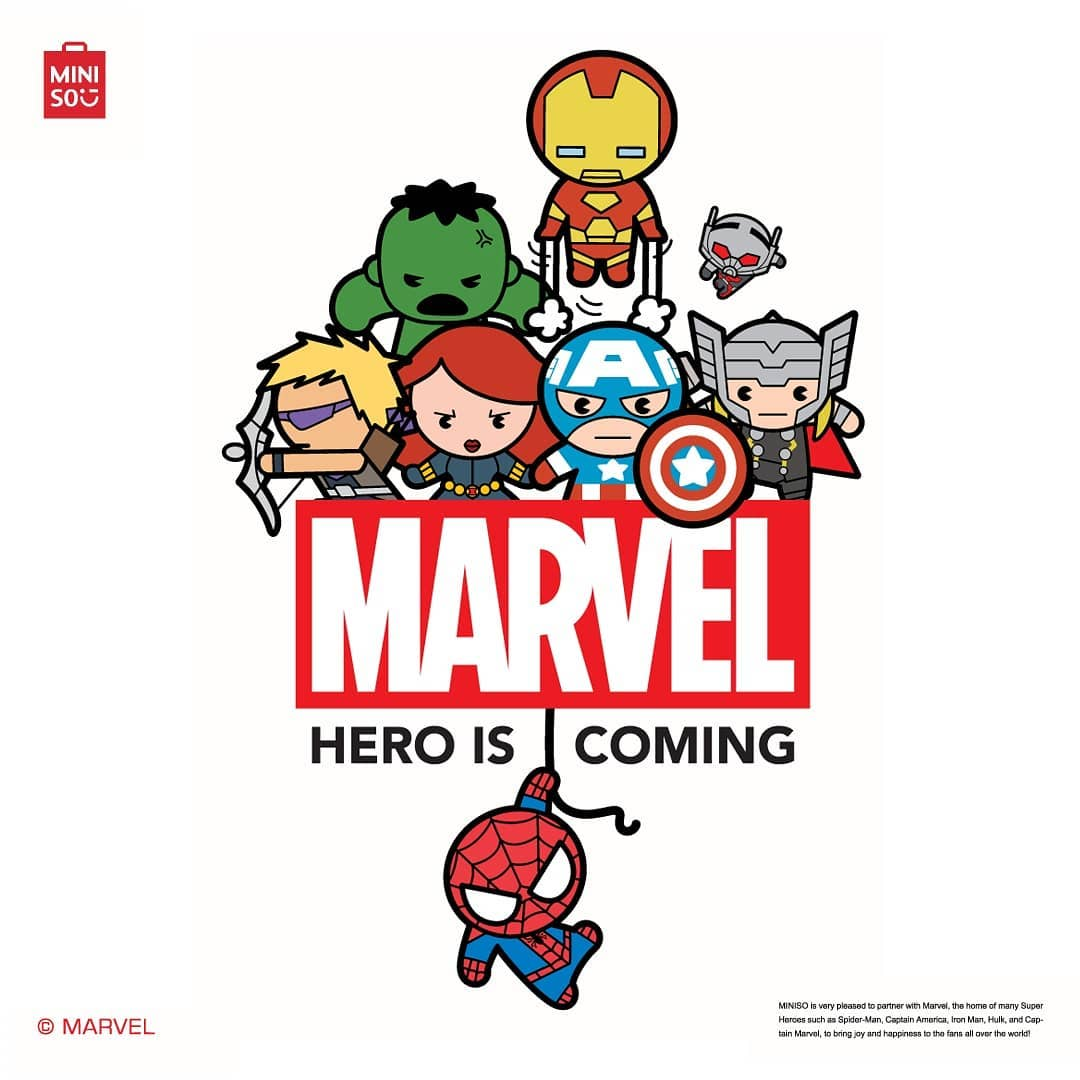 MARVEL×MINISO Launching Event