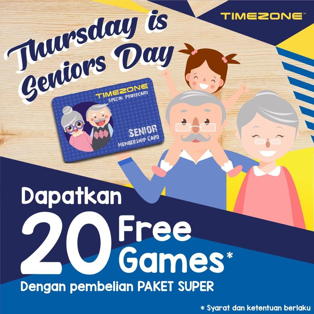 TIMEZONE Promo 20 Free Games