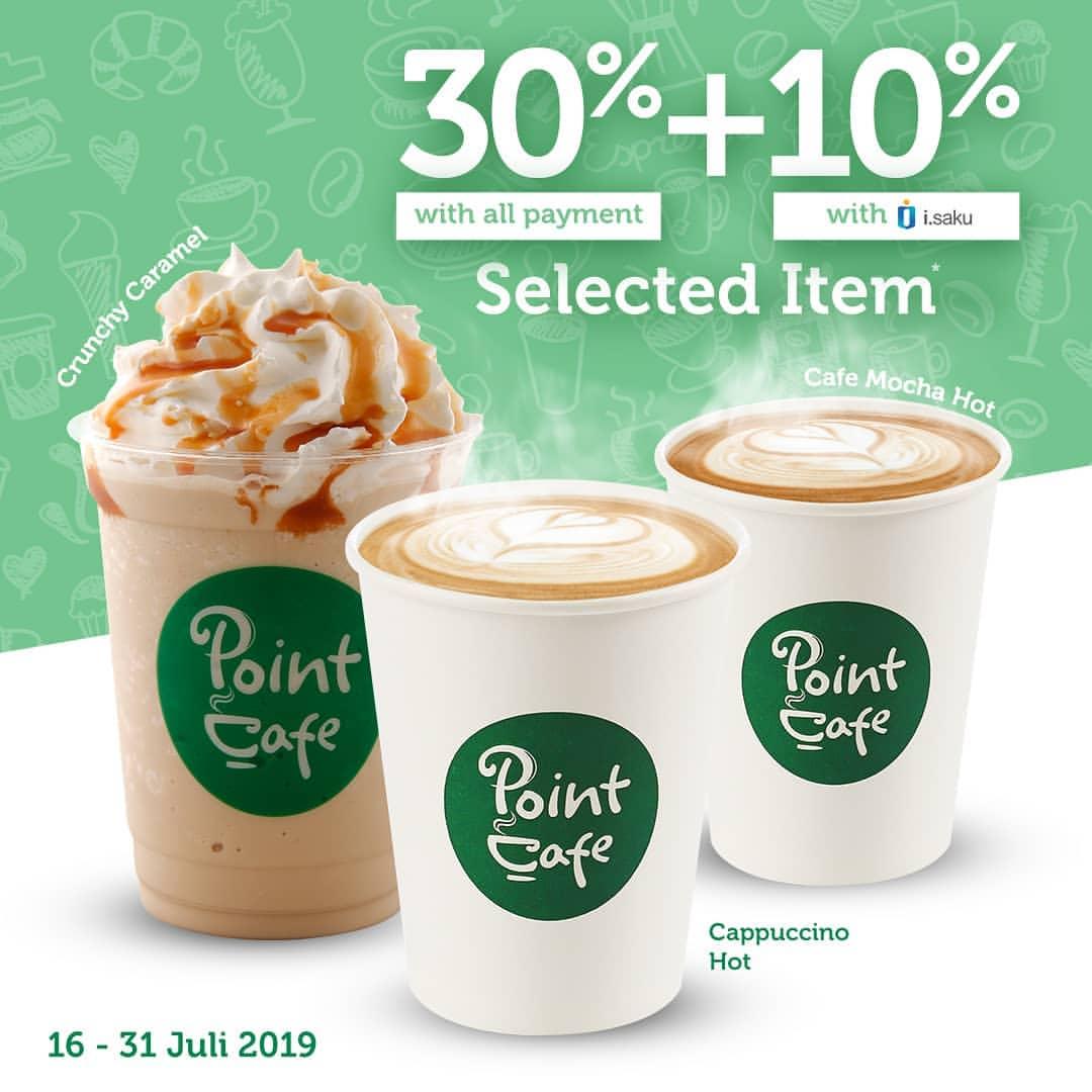 Diskon INDOMARET POINT CAFE DISKON HINGGA 40%