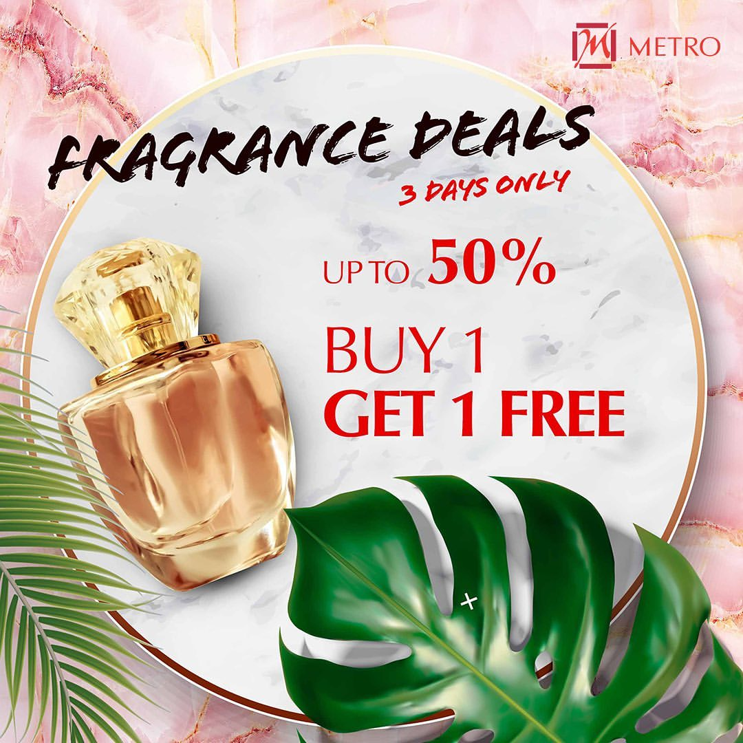 Metro Dept Store Diskon Up To 50% & Buy 1 Get 1 Free