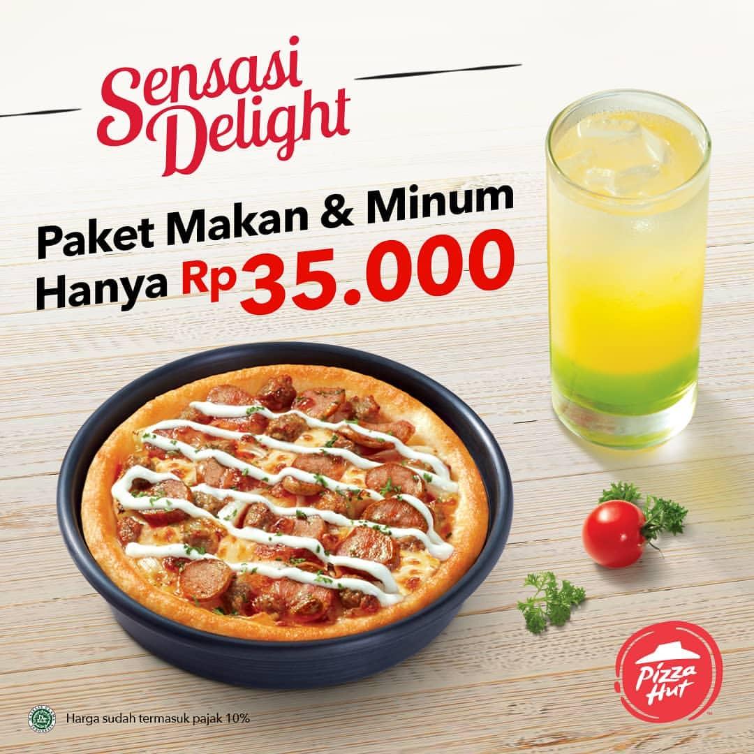 PIZZA HUT Paket Sensasi Delight mulai Rp.35.000