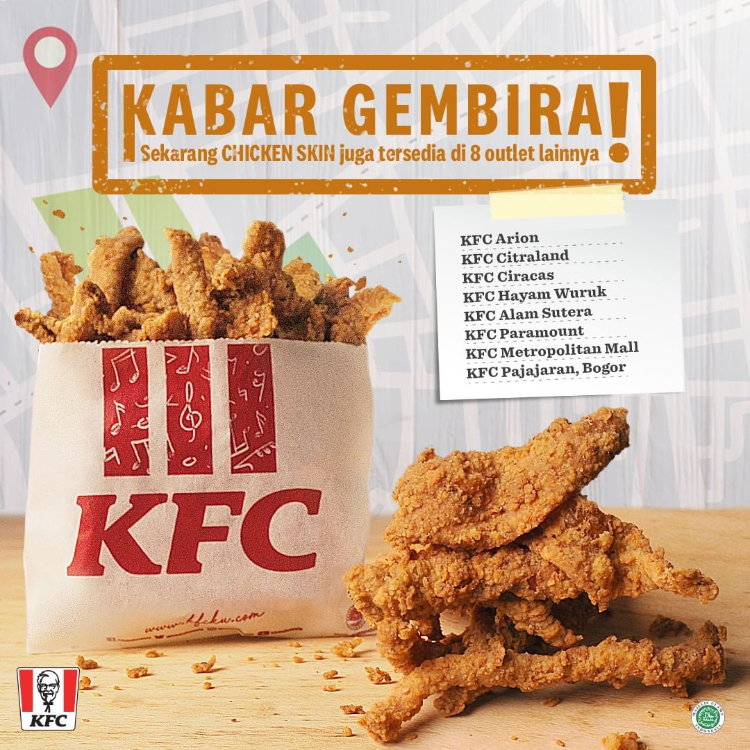 Diskon KFC NEW KFC Chicken Skin!