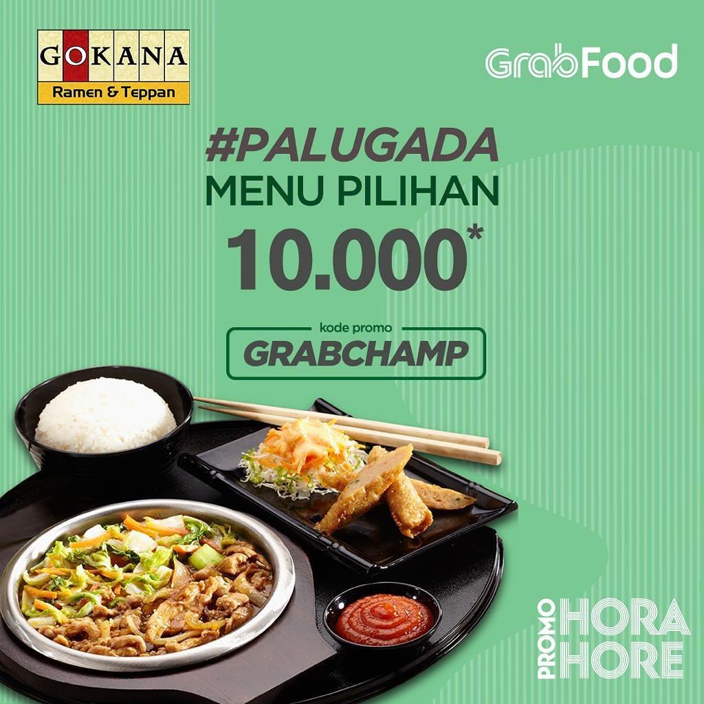 GOKANA cuma Rp.10.000 di GRABFOOD