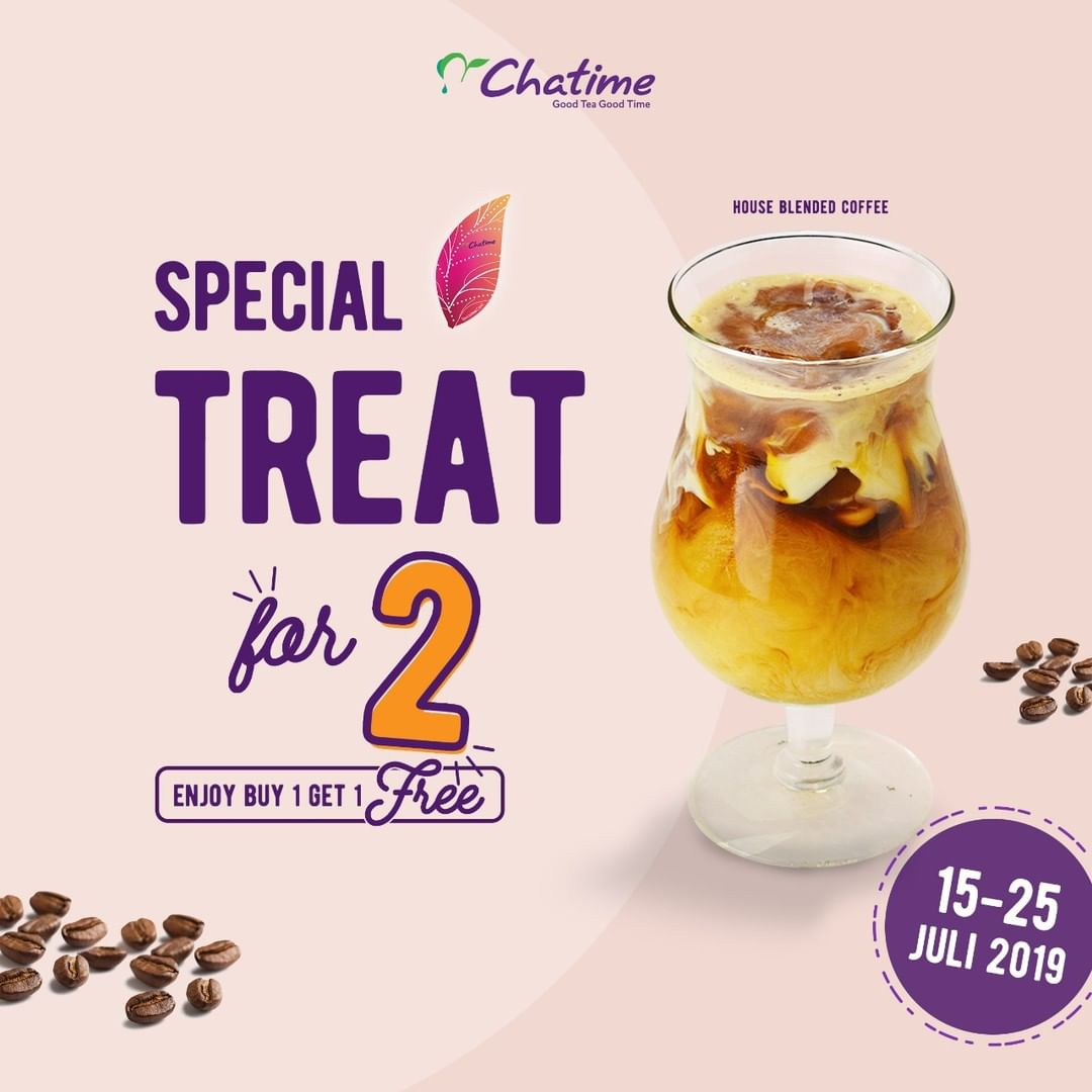 CHATIME Buy 1 Get 1 Free