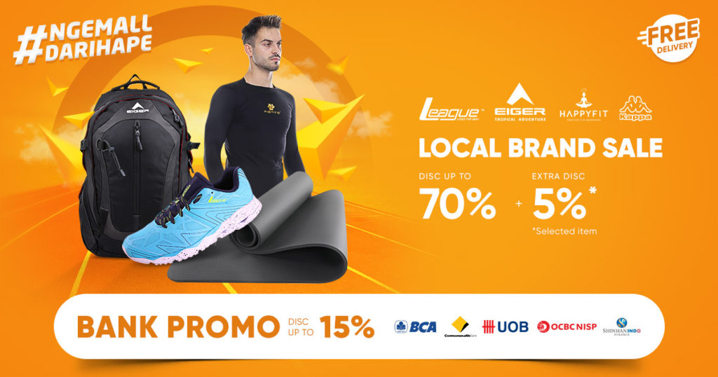 iLOTTE.COM Promo Disc up to 70% + Extra Disc 5%*